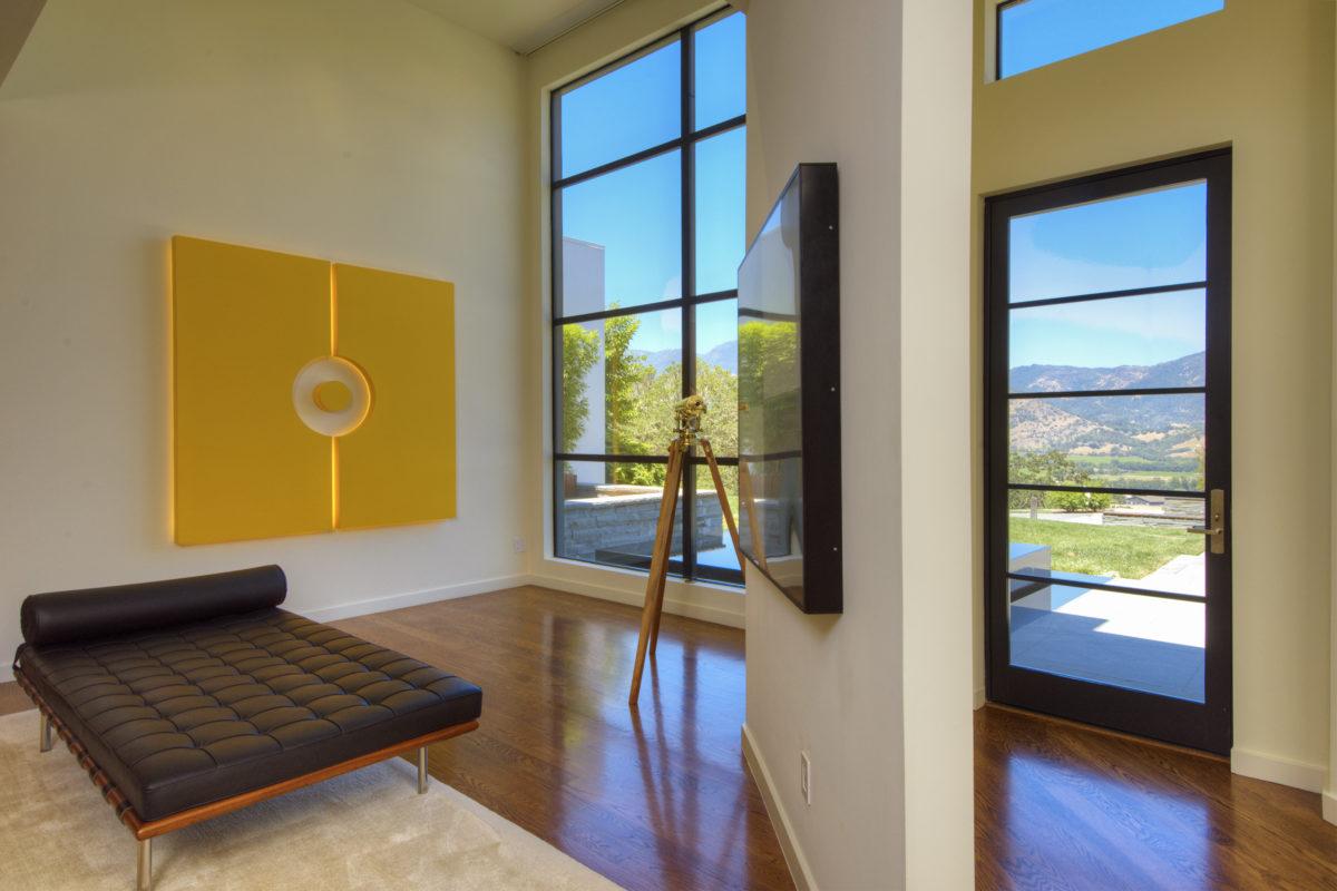 Living room 3145 State Highway 128 Calistoga