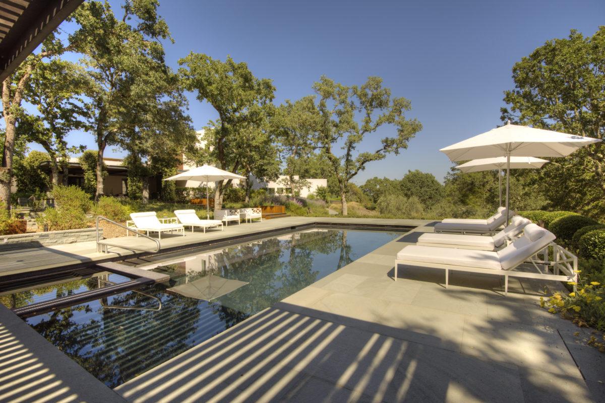 Calistoga estate pool
