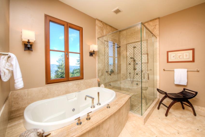 Master bath 2110 Diamond Mountain Road