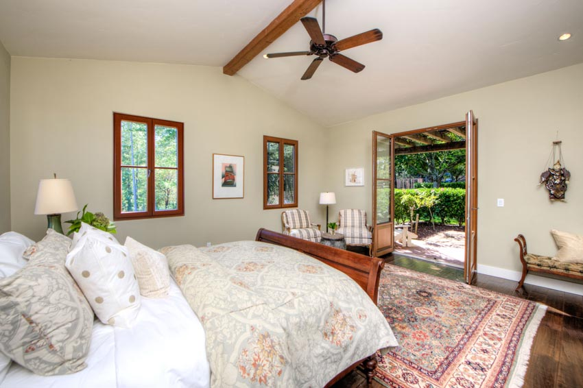 2110 Diamond Mountain Road Master bedroom