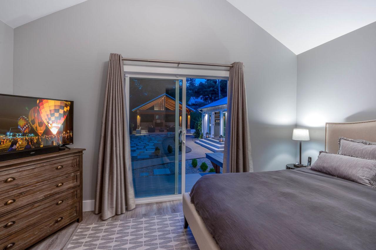 Bedroom sliding doors